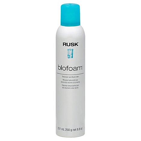 Rusk Blo Foam - 8.8 Oz
