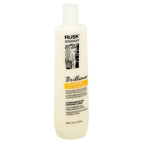 Rusk Brilliance Conditioner Leave In - 13.5 Oz