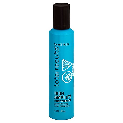 Total Results High Amplify Foam Volumizer Mouse - 8.3 Oz