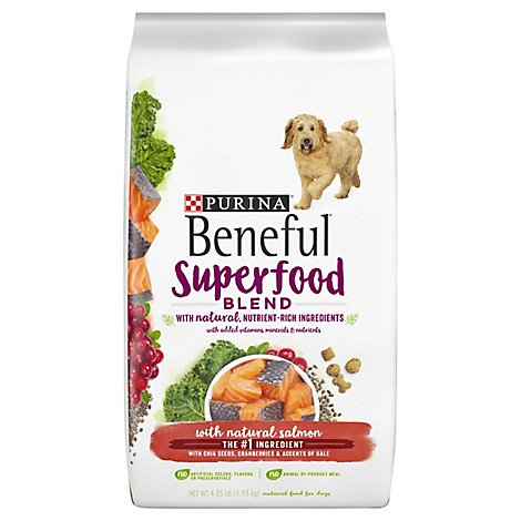 Beneful Dog Food Dry Salmon - 4.25 Lb