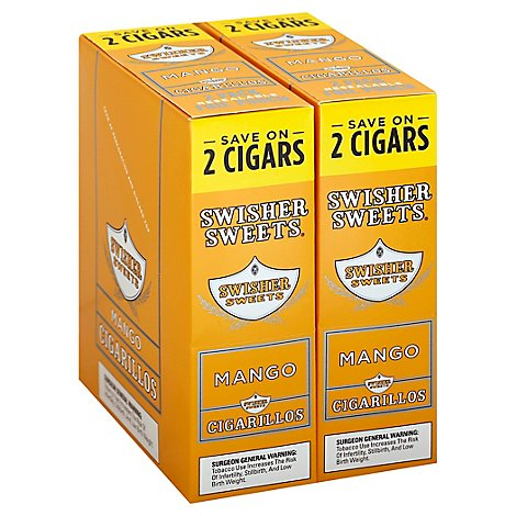 Swisher Sweets Cigarillos Mango - 2 Count