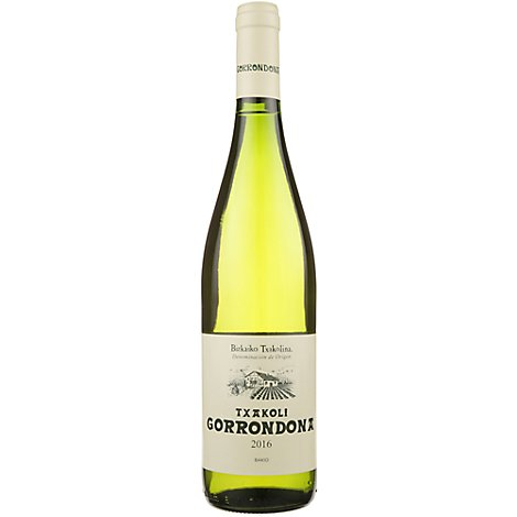 Gorrondona Blanco Txakolina Wine - 750 Ml