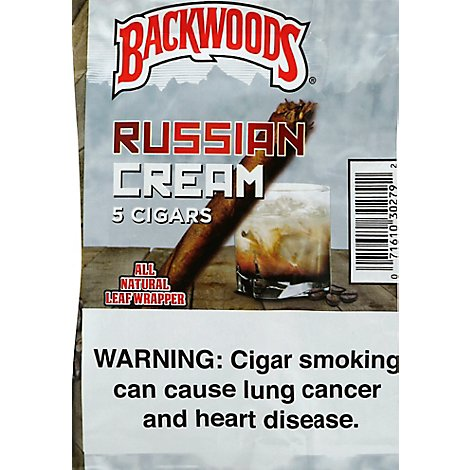 Backwoods Cigars Russian Cream - 5 Count