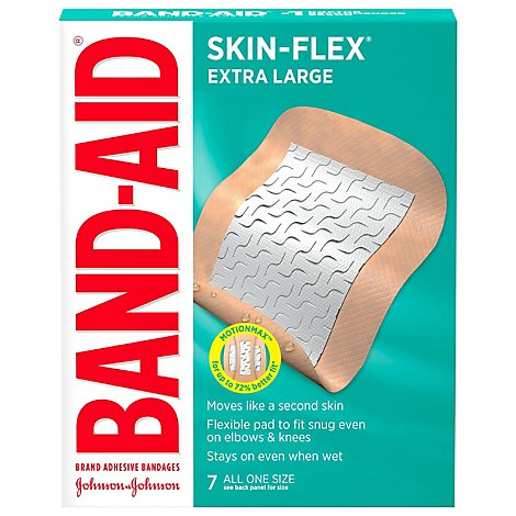 Bandaid Skin Flex Jumbo Xl 7ct - 7 Count