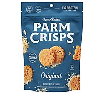 Parm Crisps Cheese Snack Oven Baked Original - 1.75 Oz