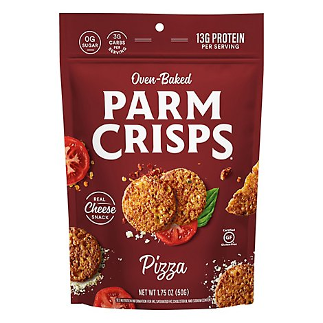 Parm Crisps Cheese Snack Oven Baked Pizza - 1.75 Oz