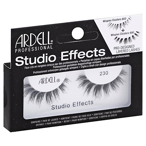 Aii Studio Effect Lashes 230 Black - 2 Count