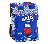 LALA Yogurt Smoothie With Probiotics Wild Strawberry - 4-7 Fl. Oz.