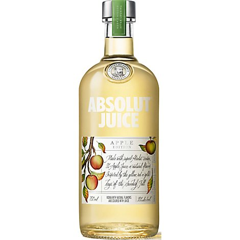 Absolut Juice Edition Apple 70 Proof - 750 Ml
