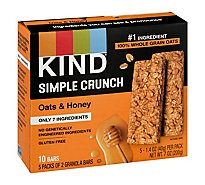 KIND Simple Crunch Granola Bars Oats & Honey - 7.05 Oz