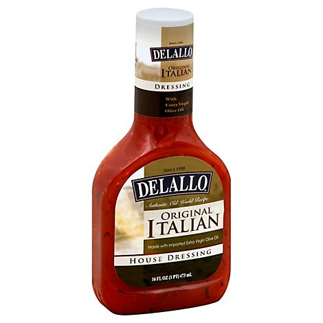 DeLallo Dressing House Italian Original - 16 Oz