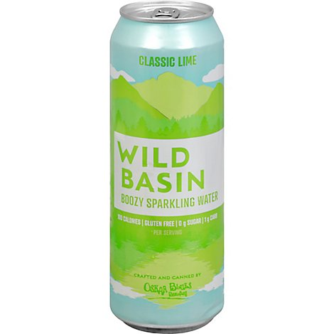 Wild Basin Classic Lime In Cans - 19.2 Oz