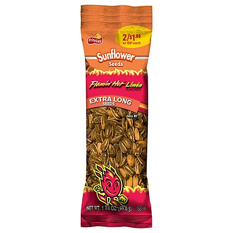 Frito Lay Sunflower Seeds Flamin Hot Limon - 1.75 Oz