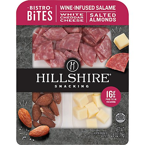 Hillshire Farm Small Plates Salami With Cheese & Nuts - 2.8 Oz