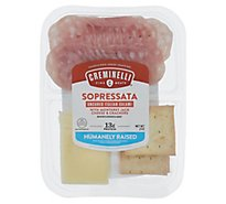 Creminelli Sliced Sopressata,monterey Jack,crackers - 2 Oz