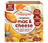 Happy Tot Organics Love My Veggies Mac & Cheese Lentil Veggie Bowl - 4.5 Oz