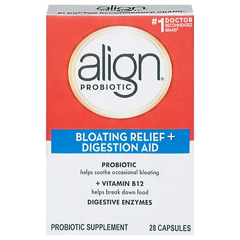 Align Probiotic Supplement Capsules Resistance Formula 7 Day - 14 Count
