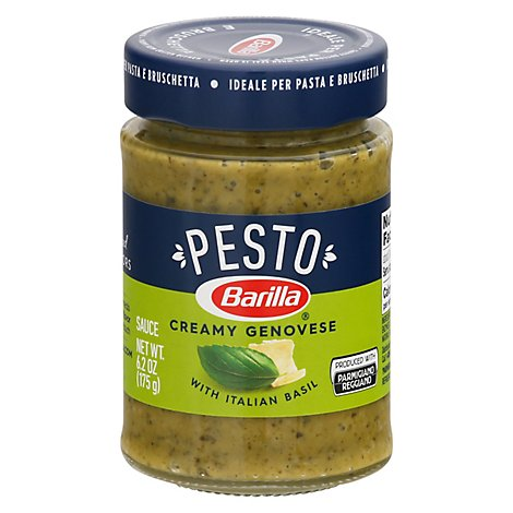 Pesto Genovese 160g Sauce Jar Usa 5 6 Oz Jewel Osco