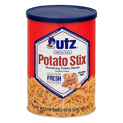 Utz Potato Stix Cannister - 15 Oz