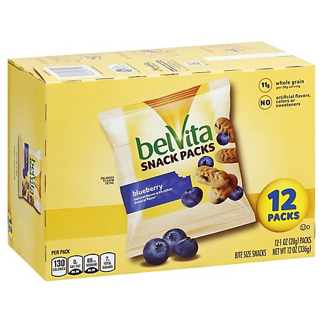 belVita Snacks Bite Blueberry - 12-1 Oz