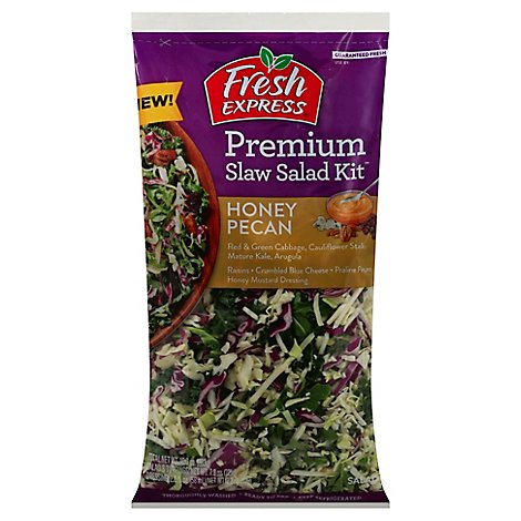 Fresh Express Slaw Kit Honey Pecan - 10 Oz