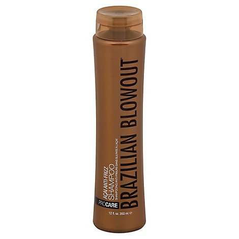 Brazilian Blowout Shampoo Acai Antifrizz - 12 Fl. Oz.