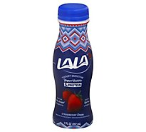 LALA Yogurt Smoothie With Probiotics Wild Strawberry - 18-7 Fl. Oz.