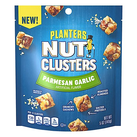 Planters Snack Nuts Parmesan Garlic Parmesan Garlic - 5 Oz