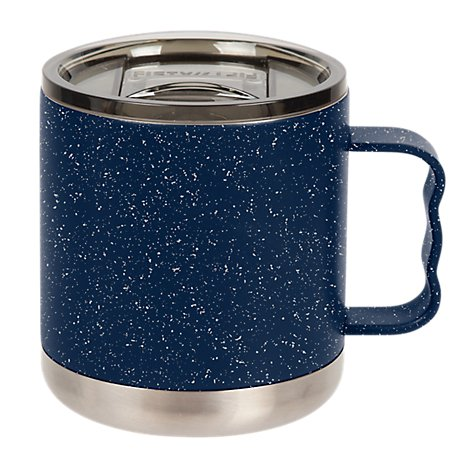 Fifty/Fifty Vi Camp Mug, Navy/Speckled W/ Smoked Lid - Each