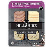 Hillshire Snacking Small Plates All Natural Peppered Turkey Breast w/Natural Havarti Cheese - Each