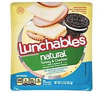 Lunchables Natural Meat & Cheese Convenience Meals Turkey And Cheddar - 3.3 Oz