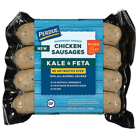 Perdue Kale And Feta Chicken Sausage Nae - 12 Oz