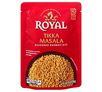 Royal Rice Ready To Heat Seasoned Basmati Tikka Masala - 8.5 Oz