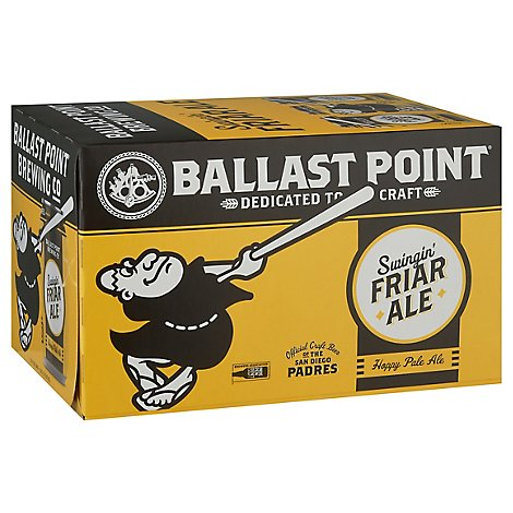 Ballast Point Swingin Friar Ale In Cans - 6-12 Fl. Oz.
