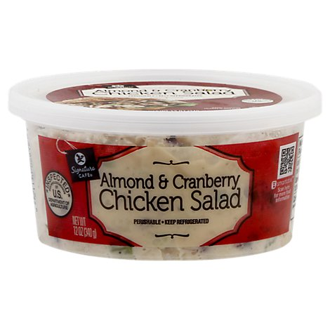 Signature Cafe Salad Chicken Almond & Cranberry - 12 Oz