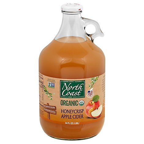 North Coa Juice Cdr Apl Hnycrsp Org - 64 Fl. Oz.