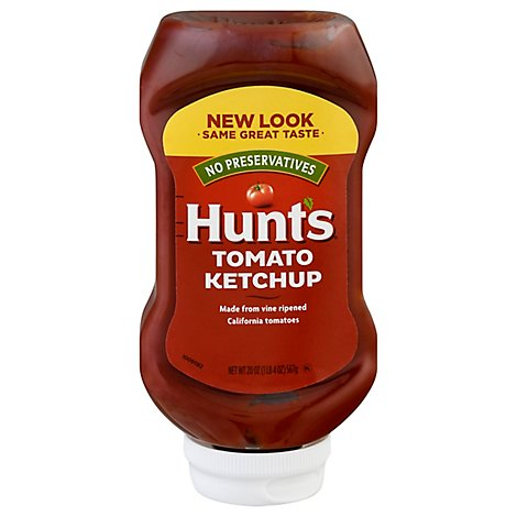 Hunts Ketchup Conventional - 20 Oz