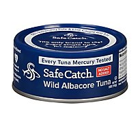 Safecatch Tuna Wld Albacore No Salt - 5 Oz