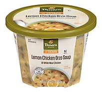 Panera Lemon Chicken Orzo Soup - 16 Oz