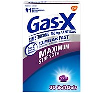 Gas X Maximum Strength Soft Gels - 30 Count
