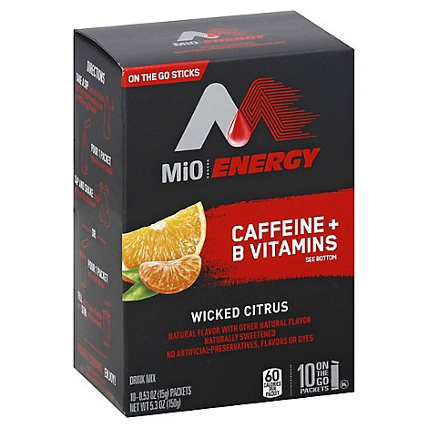 Mio Energy Powdered Soft Drink Wicked Citrus - 5.3 Oz