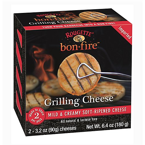 Rougette Bon Fire Mild Grilling Cheese - 6.4 Oz