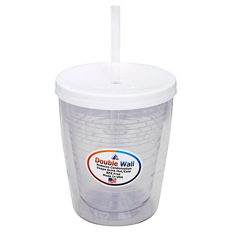 Arrow Insulated Travel Tumbler With Lid 14oz - Each