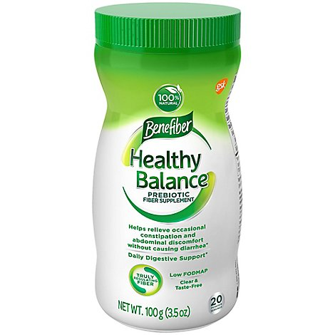 Benefiber Healthy Balance Powder - 3.52 Oz