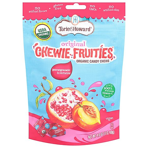Pomegranate & Nectarine Chewie Fruities - 4 Oz