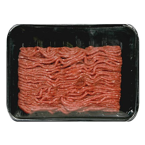 Meyer Natural Angus USDA Prime 75% Lean Ground Beef 25% Fat - 16 Oz