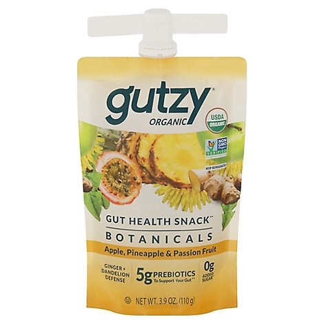 Gutzy Apple Pineapple Passion Fruit Ginger Dandelion - 3.9 Oz