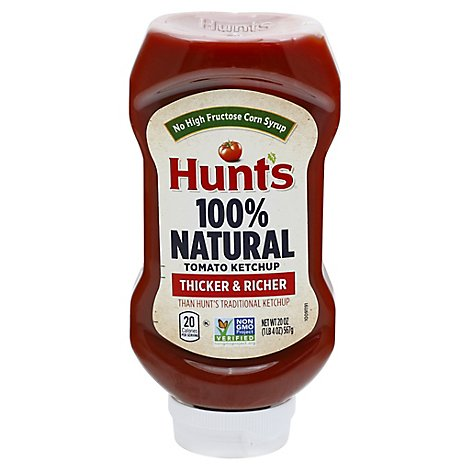 Hunts Best Ever Tomato Ketchup - 20 Oz