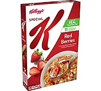 Kelloggs Special K Breakfast Cereal Red Berries With Real Strawberries Box - 11.7oz