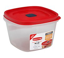 Rubbermaid Easy Find Lid Vented Container 7 Cup - Each